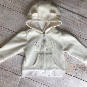 Infant GAP Girls Zipped Hoodie